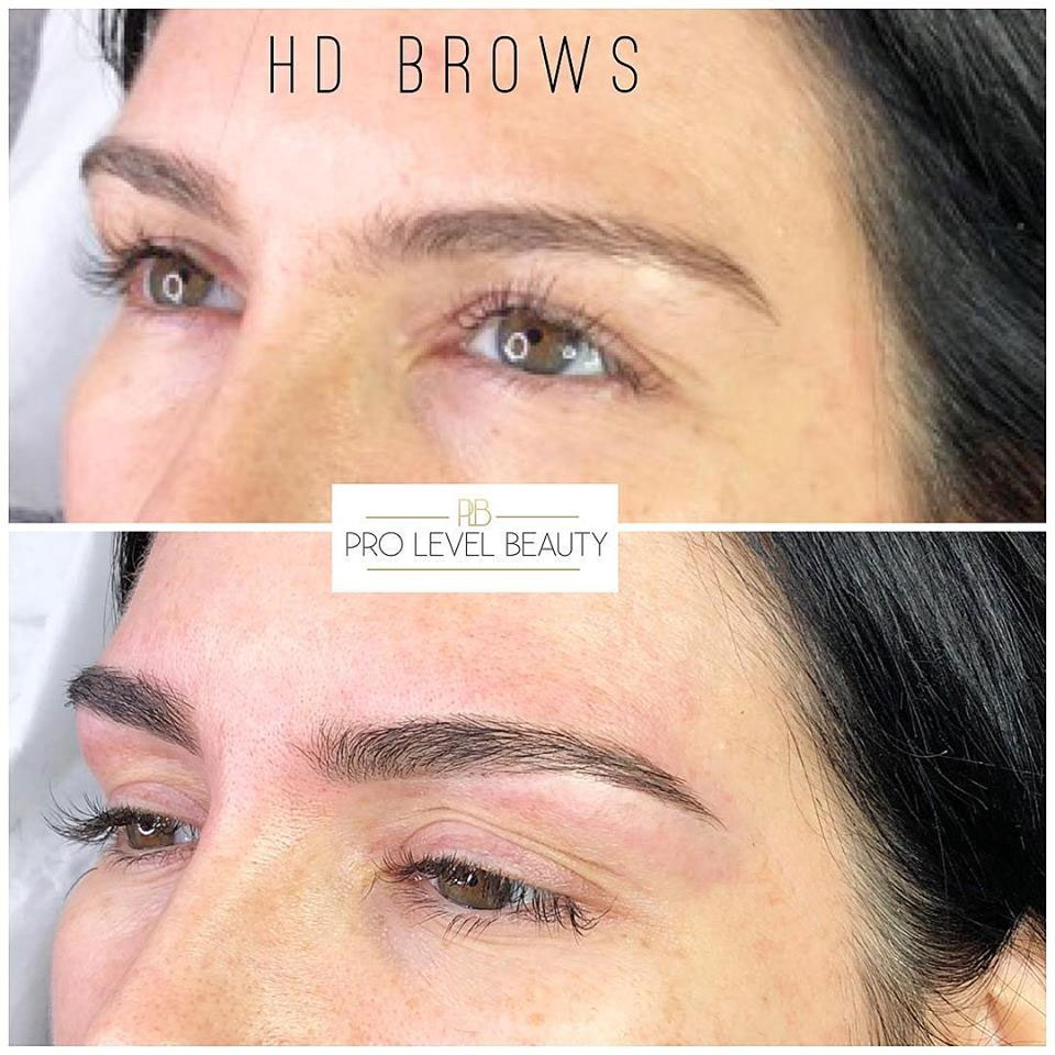 HD Brows at Pro Level Beauty