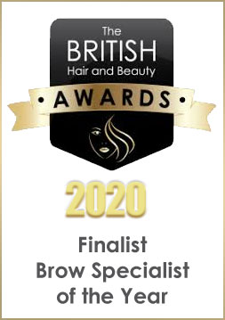 British Hair & Beauty Awards Finalist Brow Specialist