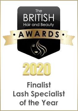 British Hair & Beauty Awards Finalist Lash Specialist